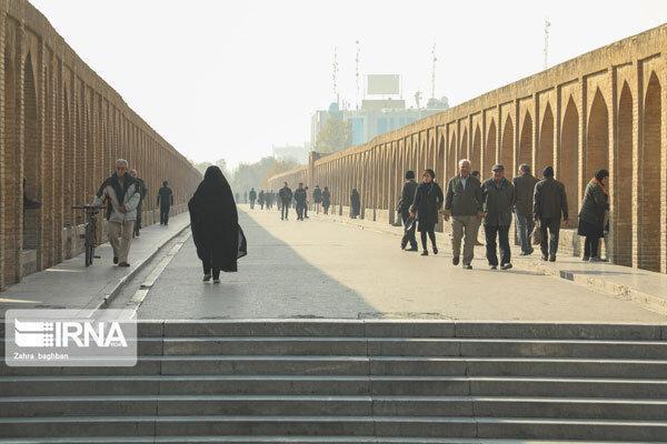 هوای اصفهان در شرایط قرمز نهاده شد