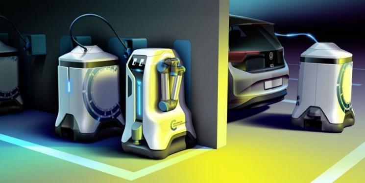 ربات هایی که قدم می زنند و خودرو ها را شارژ می نمایند