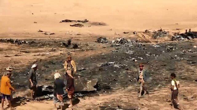 فیلم ، لحظه ساقط شدن جنگنده تورنادو ، اولین تصاویر کادر جنگنده سعودی