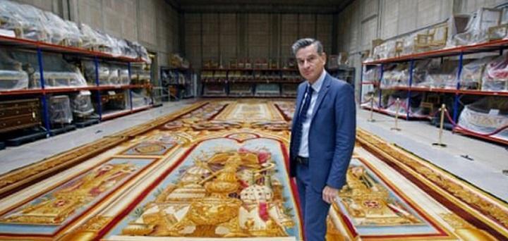 یاری میراث ملی فرانسه به بیمارستان ها