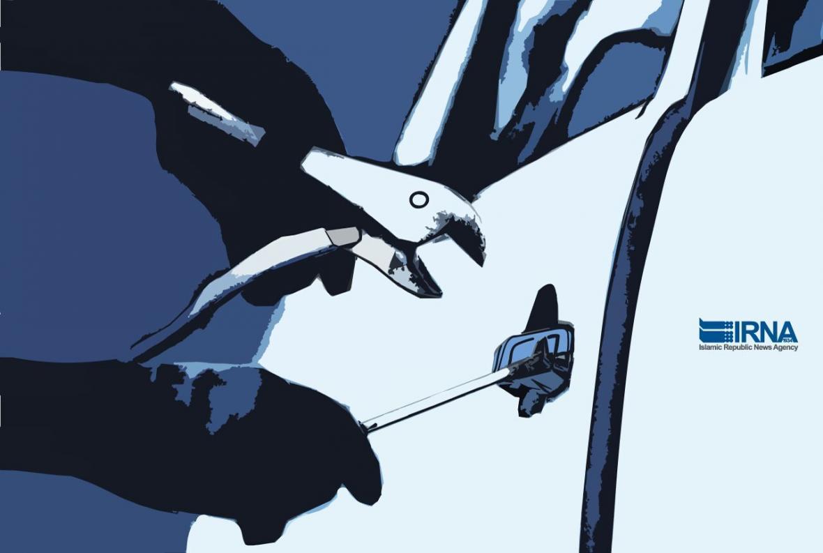 خبرنگاران کشف خودرو سرقتی کمتر از 10 دقیقه در بیرجند