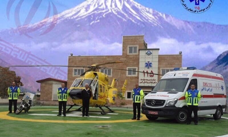 خبرنگاران امدادرسانی هوایی در ارتفاعات البرز