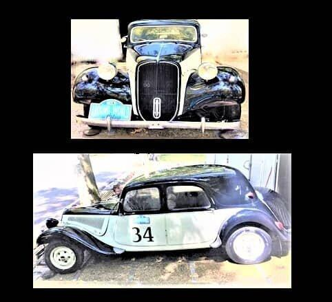 عکس ، انتقال یک خودرو سیتروئن مدل 1953 به موزه اتومبیل های سلطنتی سعدآباد